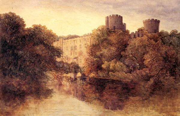 Castle In An Autumn Landscape